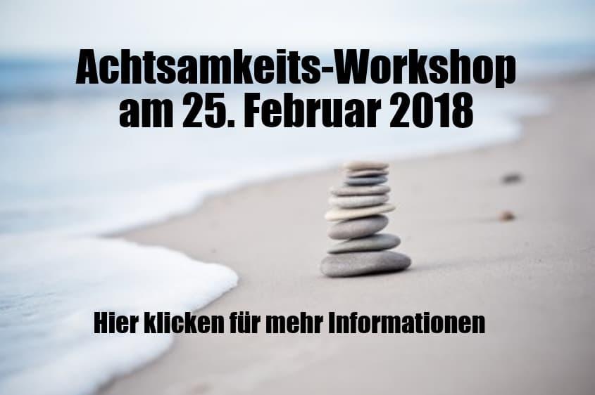 Workshop Achtsamkeit